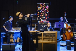 Michael-Leonhart;-jazz;-koncert;-Dominik-Bukowski;-Mateusz-Smoczyński;-muzycy