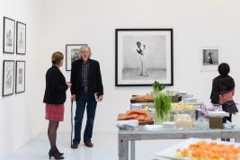Wernisaż wystawy fotografii Malick Sidibé w Paryżu. 2011/11/13.