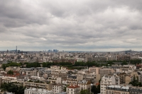 Paryz,-panorama,-widok,-budynki