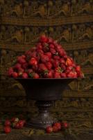 truskawki,-waza,-owoce