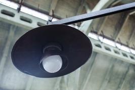 Lampa na targowisku
