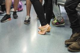 Buty w metrze