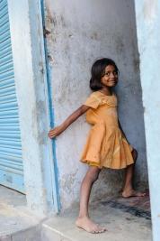 Hinduska-dziewczynka-z-Varanasi