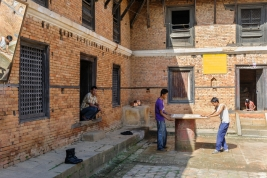 Nepalskie-podworko