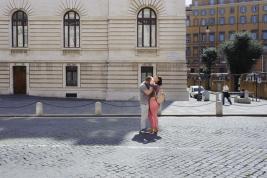 para;-zakochani;-ulica;-Rzym