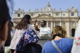 Msza na placu Św. Piotra w Watykanie