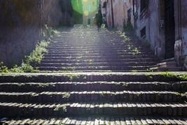 Ceglane schody