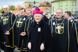 arcybiskup;-Henryk-Hoser;-Marsz-Swietosci-Zycia;-demonstracja;-Rycerze-zakonu-Jana-Pawla-II;-Warszawa;-katolicy;-