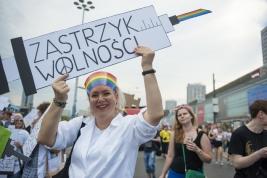 parada-rownosci;-Warszawa;-LGBT;-manifestacja;
