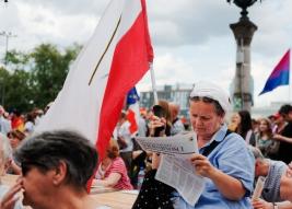 Manifestacja Polska Przeciwko Przemocy Warszawa 2019-07-27