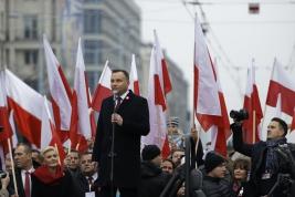 prezydent;polityk;Andrzej-Duda;Narodowe-Świeto-Niepodleglosci;marsz