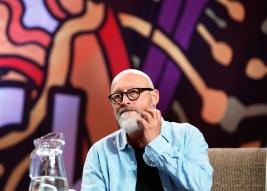 Reżyser-Wojciech-Smarzowski-podczas-spotkania-na-ASP-25-festiwalu-PolandRock-2019-Kostrzyn-201908