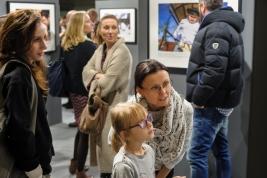 Goście na wernisażu wystawy Tomasza Tomaszewskiego w Państwowym Muzeum Etnograficznym w Warszawie 2016/01/14.