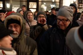 Manifestacja środowisk prawniczych - Marsz 1000 tóg Warszawa 2020-01-11
