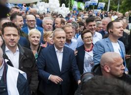 manifestacja;Donald-Tusk;Borys-Budka;-Grzegorz-Schetyna;RafalTrzaskowski;Koalicja-Europejska;-Wladyslaw-Kosiniak-Kamysz;Katarzyna-Lubnauer