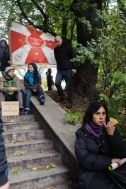 manifestacja;-demonstranci;-flaga;-anty-bankier