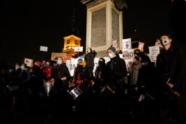 Protest artystów Warszawa 2020/11/02.
