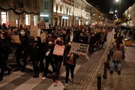 Protest kobiet Warszawa 30/10/2020