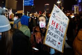 Protest kobiet Warszawa 2020/10/30.