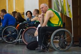 rugby;-wózki;-niepełnosprawność;-mecz;-liga;-mazowiecka;-sport