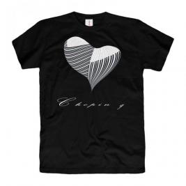 Czarna koszulka I like Chopin g
