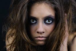 Modelka Agata Gajda, Make-up Dorota Golińska, Foto © Robert Gajda